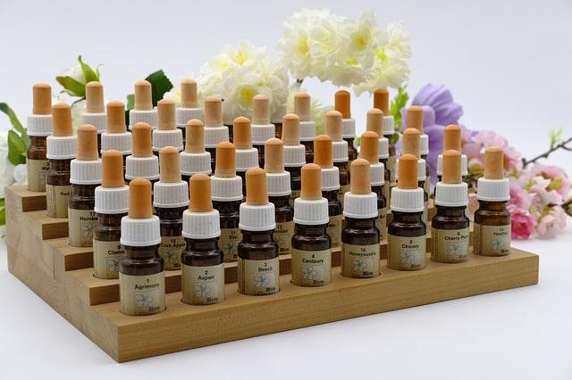 set maletin de las 38 esencias naturales de las flores de bach